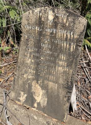 Picture of Ruatoria cemetery, block RUAA, plot 14.