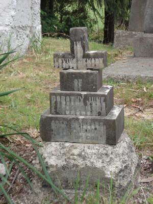 Picture of Ruatoria cemetery, block RUAA, plot 18.
