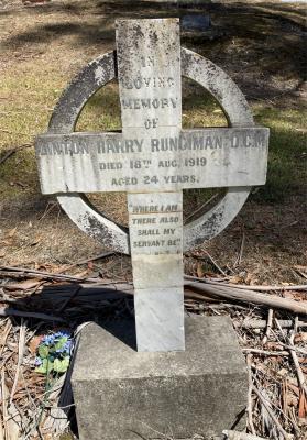 Picture of Ruatoria cemetery, block RUAA, plot 36.