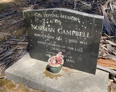 Picture of Ruatoria cemetery, block RUAA, plot 41.
