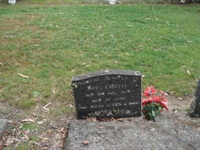 Picture of Ruatoria cemetery, block RUAC, plot 81.