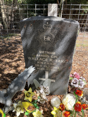 Picture of Ruatoria cemetery, block RUARS, plot 11.