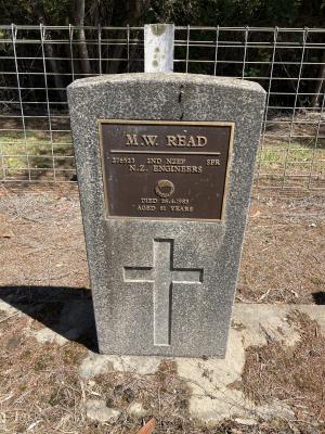 Picture of Ruatoria cemetery, block RUARS, plot 17.
