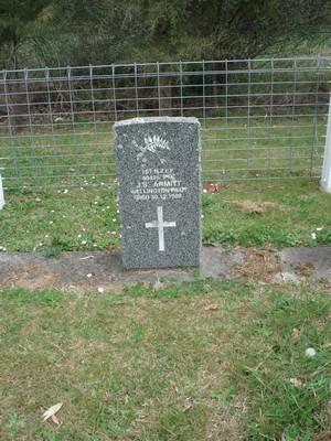 Picture of Ruatoria cemetery, block RUARS, plot 26.