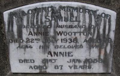 Picture of Taruheru cemetery, block 10, plot 30.