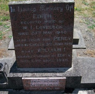 Picture of Taruheru cemetery, block 10, plot 40.