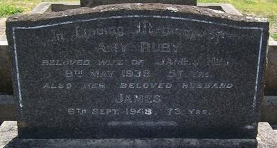 Picture of Taruheru cemetery, block 10, plot 41.