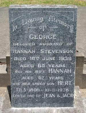 Picture of Taruheru cemetery, block 10, plot 53.