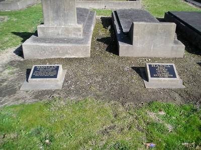 Picture of Taruheru cemetery, block 10, plot 54.