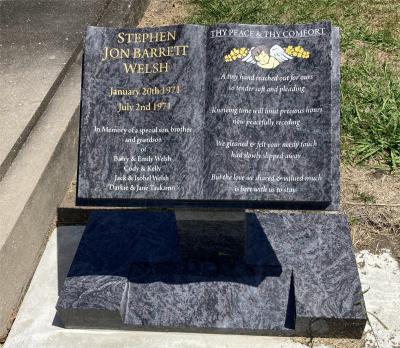 Picture of Taruheru cemetery, block 11, plot 110A.