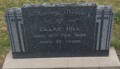 Picture of Taruheru cemetery, block 11, plot 9.