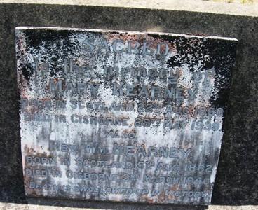 Picture of Taruheru cemetery, block 12, plot 114.