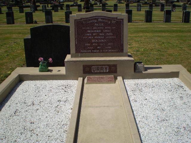 Picture of Taruheru cemetery, block 12, plot 57.