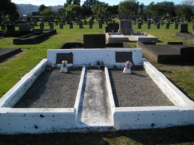 Picture of Taruheru cemetery, block 12, plot 89.