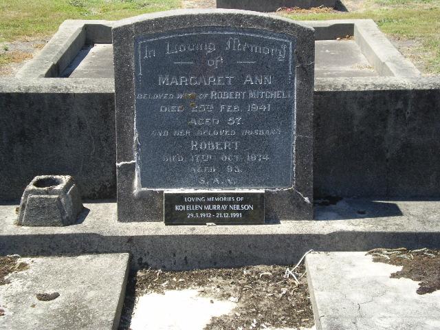 Picture of Taruheru cemetery, block 13, plot 117.
