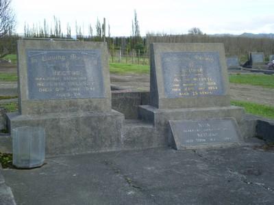 Picture of Taruheru cemetery, block 13, plot 127.