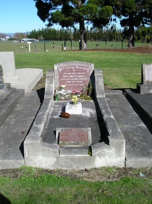 Picture of Taruheru cemetery, block 13, plot 139.