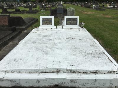 Picture of Taruheru cemetery, block 13, plot 145.