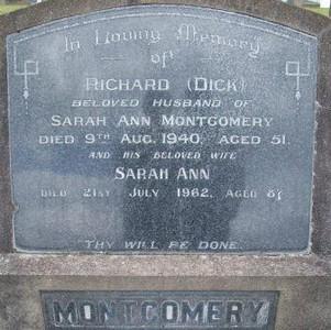 Picture of Taruheru cemetery, block 13, plot 3.