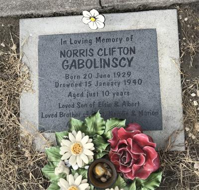 Picture of Taruheru cemetery, block 13, plot 43.