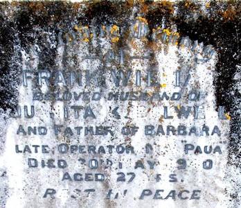 Picture of Taruheru cemetery, block 13, plot 53.