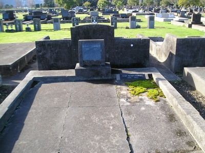 Picture of Taruheru cemetery, block 13, plot 86.