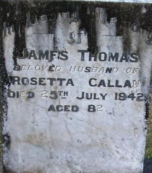 Picture of Taruheru cemetery, block 14, plot 104.