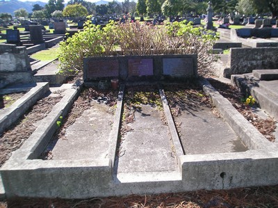 Picture of Taruheru cemetery, block 14, plot 141.