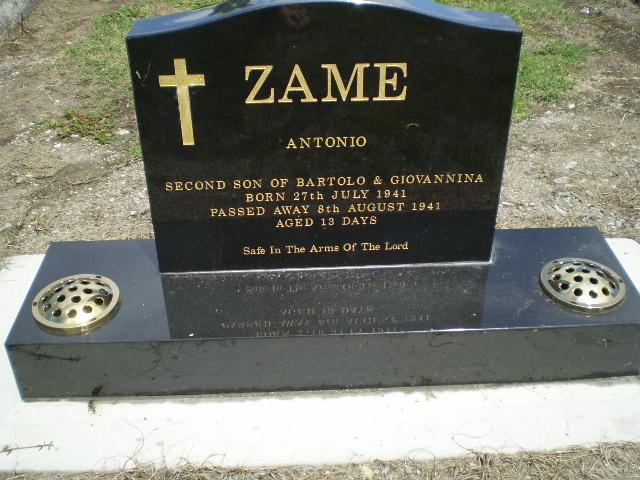 Picture of Taruheru cemetery, block 14, plot 32.