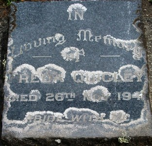 Picture of Taruheru cemetery, block 14, plot 40.