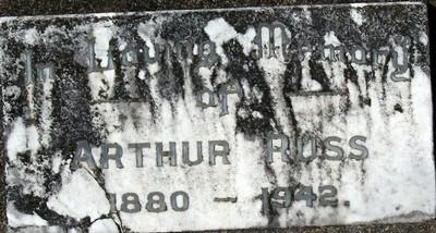 Picture of Taruheru cemetery, block 14, plot 75.
