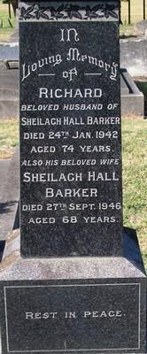 Picture of Taruheru cemetery, block 14, plot 76.