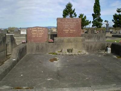 Picture of Taruheru cemetery, block 15, plot 1.