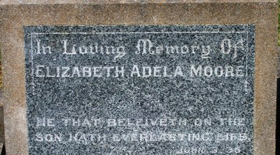 Picture of Taruheru cemetery, block 15, plot 101.