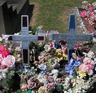 Picture of Taruheru cemetery, block 15, plot 1B.