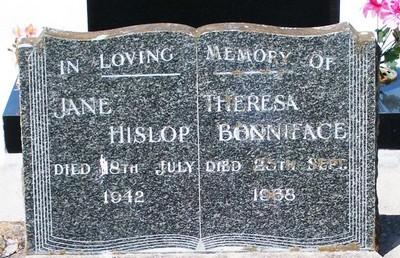 Picture of Taruheru cemetery, block 15, plot 21.