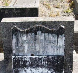 Picture of Taruheru cemetery, block 15, plot 39.