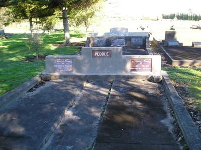 Picture of Taruheru cemetery, block 15, plot 7.