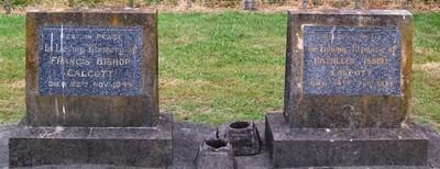 Picture of Taruheru cemetery, block 15, plot 91.