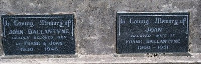 Picture of Taruheru cemetery, block 16, plot 41.