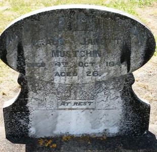 Picture of Taruheru cemetery, block 17, plot 21.