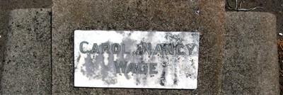 Picture of Taruheru cemetery, block 17, plot 41.