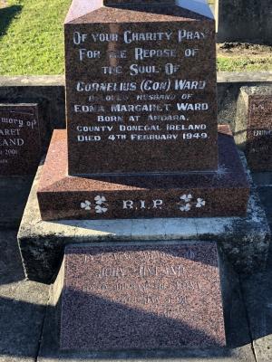 Picture of Taruheru cemetery, block 17, plot 54.