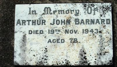 Picture of Taruheru cemetery, block 17, plot 73.