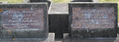 Picture of Taruheru cemetery, block 18, plot 16.
