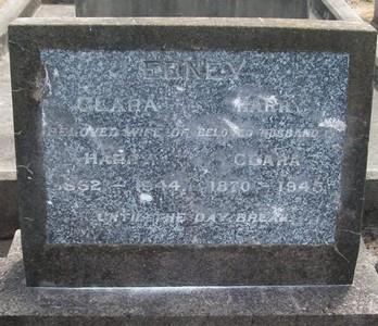 Picture of Taruheru cemetery, block 18, plot 21.