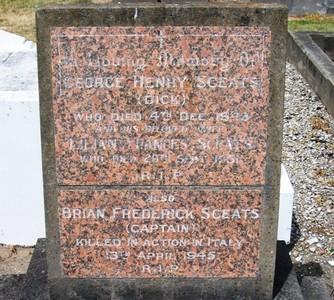 Picture of Taruheru cemetery, block 18, plot 26.