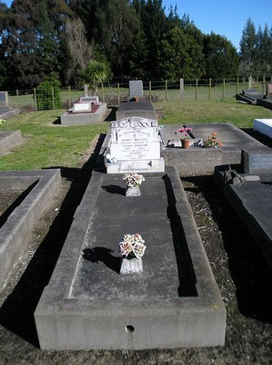 Picture of Taruheru cemetery, block 18, plot 29.