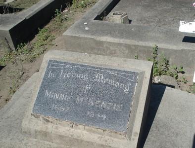 Picture of Taruheru cemetery, block 18, plot 3.
