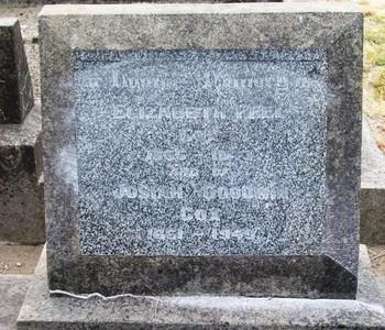 Picture of Taruheru cemetery, block 18, plot 51.